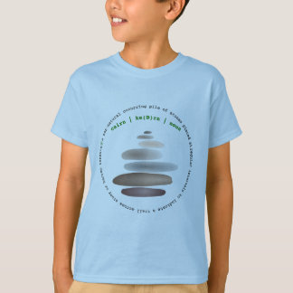 Cairn stacked stone T-Shirt