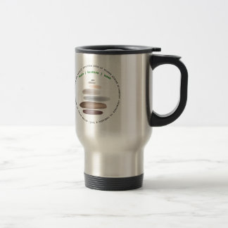 Cairn stacked stone travel mug