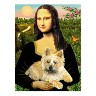 Cairn Terrier 23 - Mona Lisa Postcard