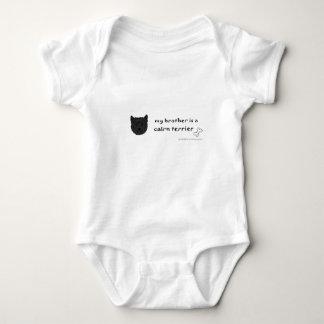 cairn terrier baby bodysuit