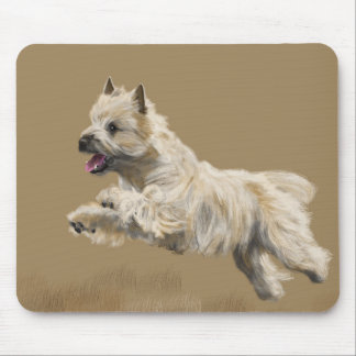 Cairn Terrier called Mackey Mouse Pad