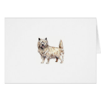 Cairn Terrier Card