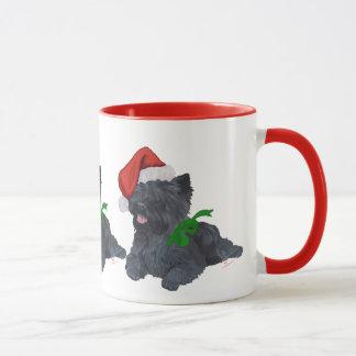 Cairn Terrier Christmas Mug