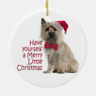 Cairn Terrier Christmas Ornament