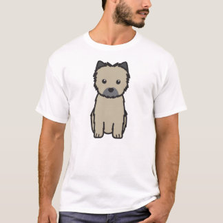Cairn Terrier Dog Cartoon T-Shirt