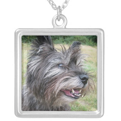 Cairn Terrier dog necklace gift idea
