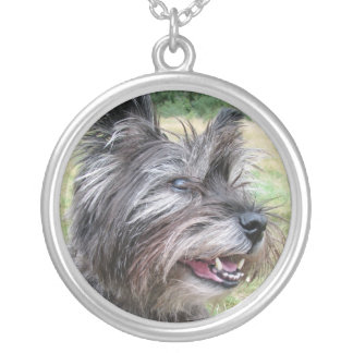 Cairn Terrier dog necklace, gift idea