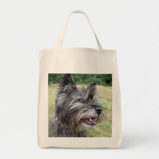 Cairn Terrier dog tote bag, gift idea