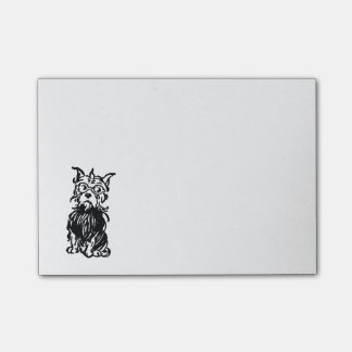 Cairn Terrier Dog Toto Post-it® Notes