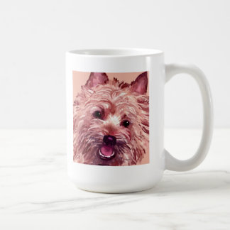 Cairn Terrier Face Art Mug