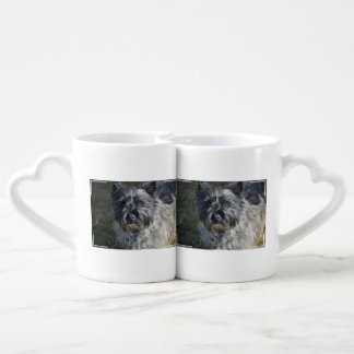 Cairn Terrier Face Coffee Mug Set