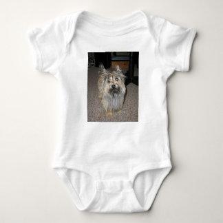 cairn terrier full baby bodysuit