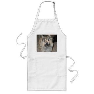 cairn terrier full long apron