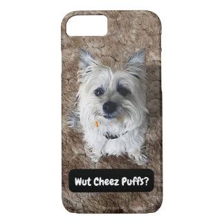 Cairn Terrier Funny Snack Meme Humor iPhone Case