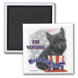 Cairn Terrier Gifts Square Magnet