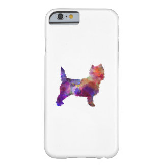 Cairn Terrier in watercolor Barely There iPhone 6 Case