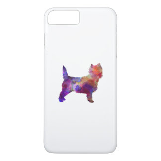 Cairn Terrier in watercolor iPhone 8 Plus/7 Plus Case
