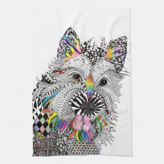 Cairn Terrier Kitchen Towel