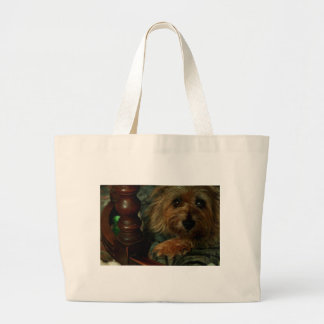 Cairn Terrier Large Tote Bag