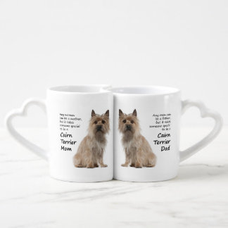 Cairn Terrier Lovers Mom and Dad Mugs Couple Mugs