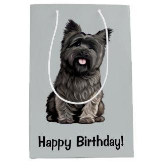 Cairn Terrier Medium Gift Bag