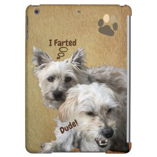 Cairn Terrier Morkie Dog Funny Vertical iPad Case