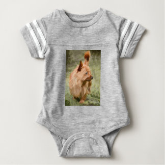 Cairn Terrier - Painting Baby Bodysuit