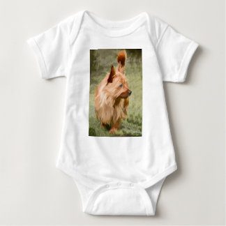Cairn Terrier - Painting Baby Bodysuit