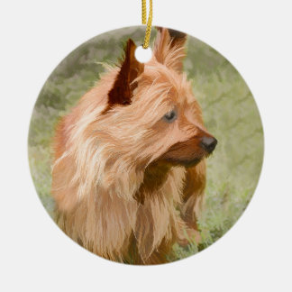 Cairn Terrier - Painting Ceramic Ornament