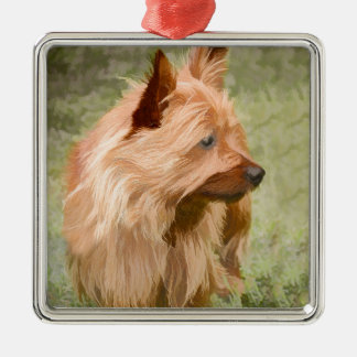 Cairn Terrier - Painting Metal Ornament