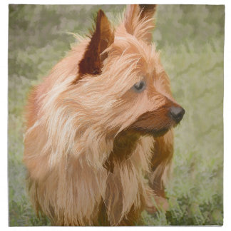 Cairn Terrier - Painting Napkin