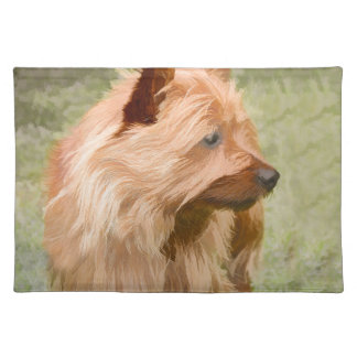 Cairn Terrier - Painting Placemat