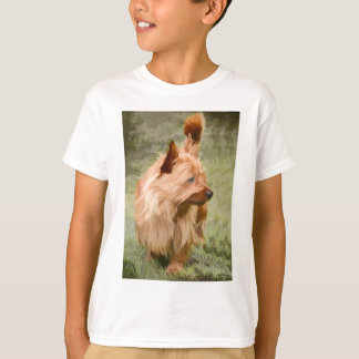 Cairn Terrier - Painting T-Shirt