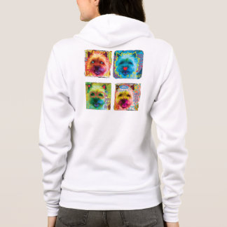 Cairn Terrier pop art sweatshirt