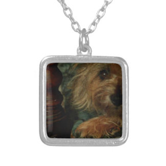 Cairn Terrier Silver Plated Necklace