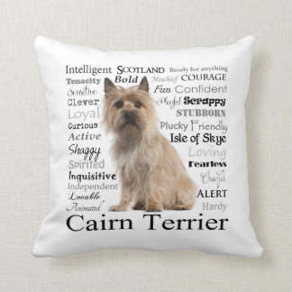 Cairn Terrier Traits Pillow