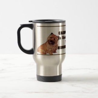 cairn terrier travel mug