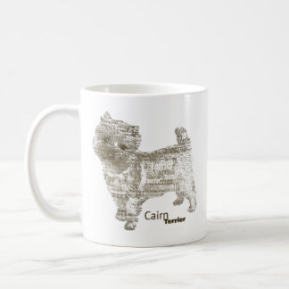 Cairn Terrier ---  - TypoDoggies Coffee Mug