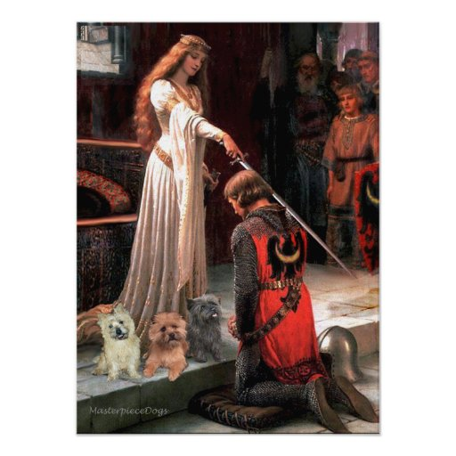 Cairn Terriers (Three) - The Accolade Print