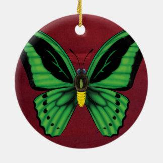 Cairns Birdwing Butterfly Ceramic Ornament