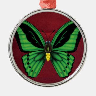 Cairns Birdwing Butterfly Metal Ornament