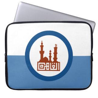 Cairo city flag Egypt symbol Laptop Sleeve
