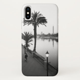Cairo Egypt, Along the Nile River iPhone X Case