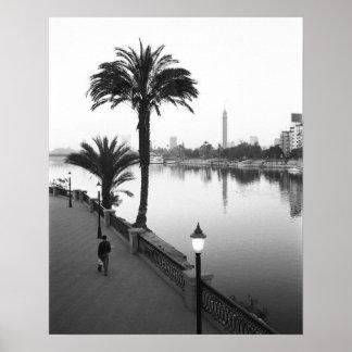 Cairo Egypt, Along the Nile River Poster