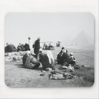 Cairo Egypt, Camel Jockeys Giza Pyramids (NR) 2 Mousepads
