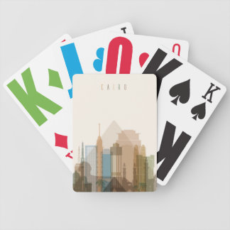 Cairo, Egypt | City Skyline Bicycle Playing Cards