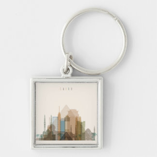 Cairo, Egypt | City Skyline Key Ring