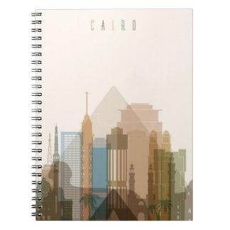 Cairo, Egypt   City Skyline Notebook