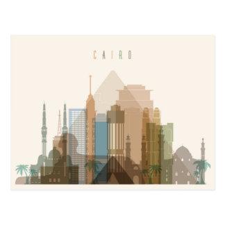 Cairo, Egypt   City Skyline Postcard
