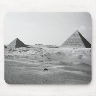 Cairo Egypt, Giza Pyramids Mouse Pad